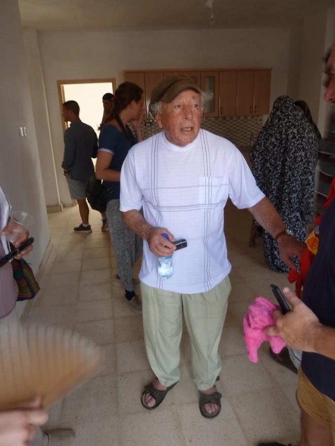 Reuven Moskowitz war zur Einweihungsfeier eingeladen und war dabei.