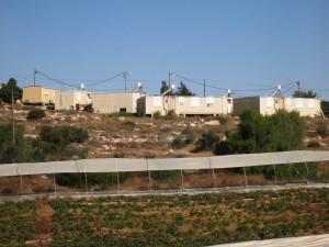 Illegaler Outpost, eine Illegale jüdische Siedlung im Entstehen auf palästinensischem Land (bei Susiya)